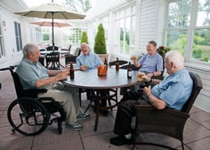 Quebec Retirement Home Residents